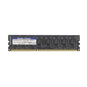 Super Talent Technology 4GB DDR3-1600 módulo de Memoria (4 GB, 1 x 4 GB, DDR3, 1600 MHz, 240-pin DIMM)