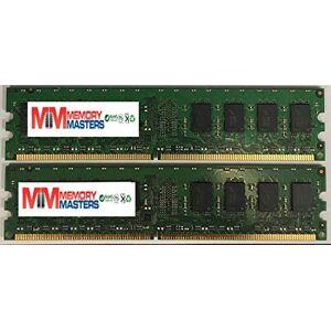MemoryMasters Memoria DDR2 PC2-6400 (4 GB, 2 x 2 GB) para Hewlett-Packard Pavilion Elite m9241.nl