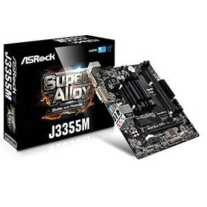 ASRock J3355M NA (integrated CPU) Micro ATX Placa base (DDR3-SDRAM,DDR3L-SDRAM, DIMM, 1333,1600,1866 MHz, Dual, 16 GB, Intel)