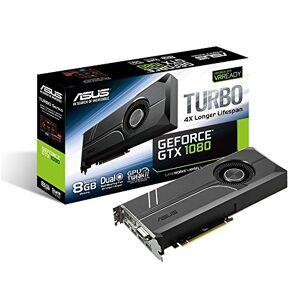 Asus TURBO-GTX1080-8G GeForce GTX 1080 8 GB GDDR5X Tarjeta gráfica (GeForce GTX 1080, 8 GB, GDDR5X, 256 bit, 7680 x 4320 Pixeles, PCI Express 3.0)