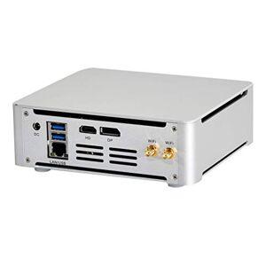 HUNSN 4K Mini PC, Desktop Computer,Windows 10 Pro/Linux Ubuntu,Support Kodi, Proxmox,Vmware,ESXI,Intel Core I7 8750H,BM21,[WiFi/BT/DP/HDMI/6USB3.0/Type-C/LAN](64G RAM DDR4/512G M.2 2280 NVME SSD)