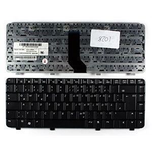 Keyboards4Laptops Alemán Negro Teclado de Repuesto para Ordenador portátil Compatible con HP Pavilion DV2580EO