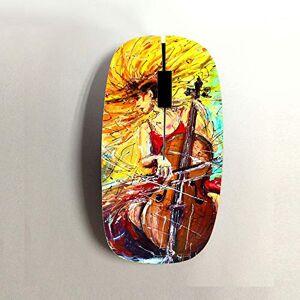 Gogh Yeah Popular El Plastico Ni?o Tener Cello 1 Usar para Wireless Mouse