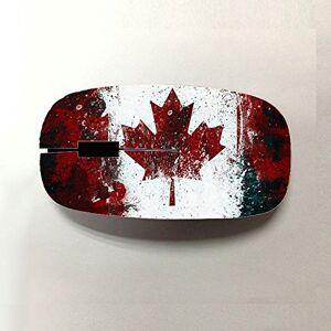 Jbs Kawiaa Shop Diseño Canadian Flag para Wireless Mouse Plástica Niño Especificidad