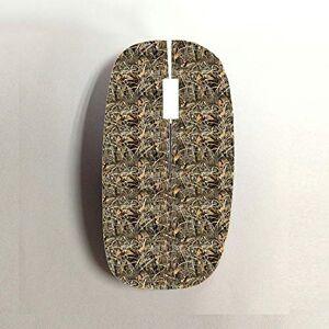 Gogh Yeah Dise Camo 1 Usar En Bluetooth Mouse Mujer Multa Pl¨stico Duro