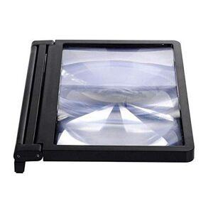 CNluca Pantalla de teléfono móvil Lupa Protección de los Ojos Pantalla Pantalla de Video 3D Amplificador Plegable Ampliado Ampliar Soporte Soporte
