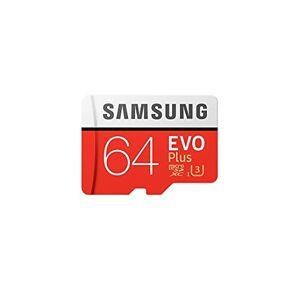 Samsung Evo Plus 64GB MicroSD XC Class 10 UHS-1 Mobile Memory Card for  Galaxy J3 J1 Nxt Ace A9 A7 A5 A3 Tab A 7.0 E 8.0 View On7 On5 Z3 with MemoryMarket MicroSD & SD Memory Card Reader