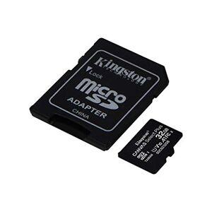Kingston Tarjeta de 32 GB para Samsung Galaxy S10+ microSDHC Canvas Select Plus verificada por SanFlash (100 MBs Funciona con Kingston)
