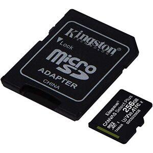 Kingston Tarjeta de 256 GB para Huawei AQM-AL00 MicroSDXC Canvas Select Plus verificada por SanFlash (100 MBs Funciona con Kingston)