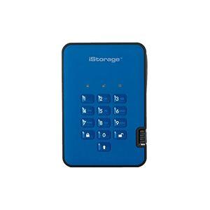 iStorage diskAshur 2 Disco Duro Externo (4000 GB, 3.0 (3.1 Gen 1), 5400 RPM, Azul)