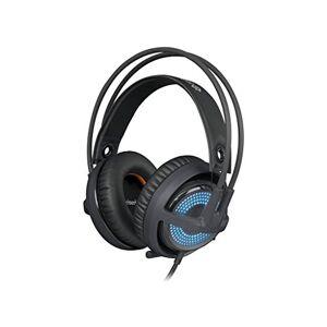 SteelSeries Siberia v3 Prism Auriculares con micrófono (PC/Juegos, Biauricular, Diadema, Negro, USB, Alámbrico)