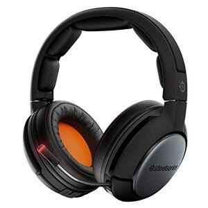 SteelSeries Siberia 84 Auriculares inalámbricos Bluetooth para videojuegos con sonido envolvente Dolby 7.1 para PC, Mac PS3, 4 Xbox 36, Apple TV, Roku y dispositivos móviles, Siberia 840, Negro