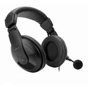 Speedlink SL-4531-BK Biauricular Diadema Negro Auricular con micrófono Auriculares con micrófono (Consola de Juegos, Biauricular, Diadema, Negro, Alámbrico, Supraaural)