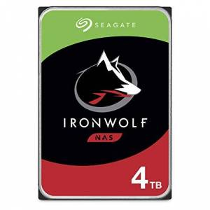 Seagate Disco Duro Interno Ironwolf, 4TB, SATA3, 5900RPM, 24 x 7 Hot-Plug para NAS 1-8 Bahías, 3.5