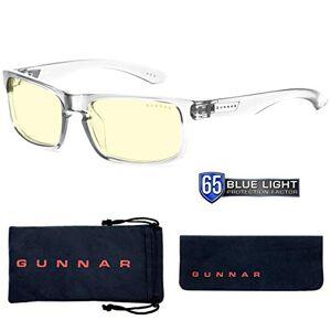 Gunnar Optiks Gunnar anteojos de Sol para Videojuegos (protección de la luz Azul del 65%, luz UV 100%, antirreflectante, para Proteger y Reducir la Fatiga Ocular y la sequedad), Color Azul