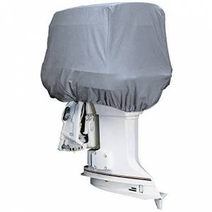 attwood MARINE  Road Ready Cotton Heavy-Duty Canvas Cover f/Outboard Motor Hood 115-225HP / 10544 /