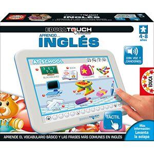 15438 Educa Touch Junior Aprendo Ingles Spanish Language game for learning English