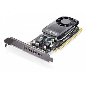 Lenovo Tarjeta gráfica Quadro P620  2 GB GDDR5  Necesario Espacio de Ranura única  Ventilador Cooler  4 X Mini DisplayPort  PC