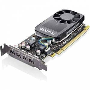 Lenovo Tarjeta gráfica Quadro P620-2 GB GDDR5 de bajo Perfil 4 x Mini DisplayPort para ThinkStation P320 30BJ, 30BK, 30BS; P330 30C7, 30C8, 30CA; P330 (2 generación) 30D2
