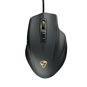 Mionix Naos 7000 Multicolor Ergonomic Optical Gaming Mouse, Black/Multicolor led