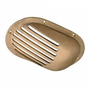 """Perko 0066DP4PLB /  8"""" x 5-1/8"""" Scoop Strainer Bronze MADE IN THE USA"""