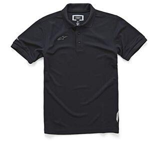 Alpinestars Polo de piqué para Hombre, Vortex Polo para Hombre, Color Negro, Large