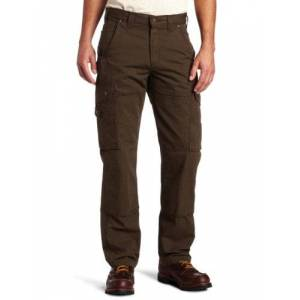 Carhartt Men's Cotton Ripstop Relaxed Fit Work Pant,Dark Coffee,38 x 30