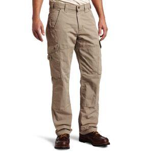 Carhartt Men's Cotton Ripstop Relaxed Fit Work Pant,Desert,30 x 30