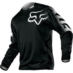 Fox Racing Blackout Youth Boys Off-Road Jerseys para Moto, Color Negro, Negro, Small