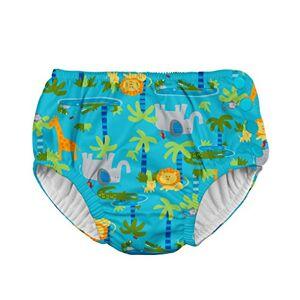 i play. Bañador Reutilizable y Absorbente para bebés y niños, Selva de Aqua, 18 Meses