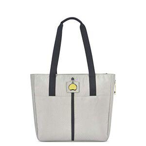 DELSEY Paris Bolso de hombro para mujer, color gris claro, manga de 35,5 cm