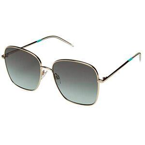 Tommy Hilfiger TH 1648/S SS19 Gafas de sol para Mujer, Gold/Green, 58 mm