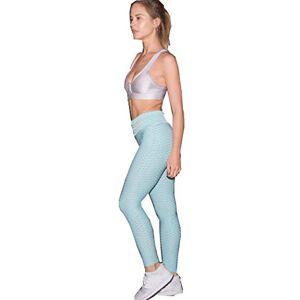 Foviza Leggings Leggings de compresión anticelulitis para Mujer, Ajustados, elásticos, Azul, S