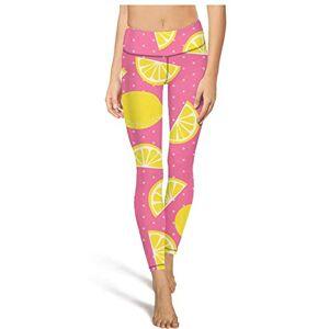 TylerLiu Mushroom Humano de Cintura Alta Pantalones de Yoga Bolsillo Pantalones de Yoga Fitness Absorción de Impresión Pantalones de Yoga, Blanco-14, S