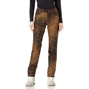 Volcom Battle Pantalón de Nieve elástico para Mujer, Leopardo '21, L