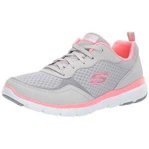 Skechers Flex Appeal 3.0-go Zapatillas para Mujer, Lghp, 5 Wide