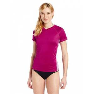 Kanu Surf Women's CB UPF 50+ Swim tee, Purple Orchid, Medium