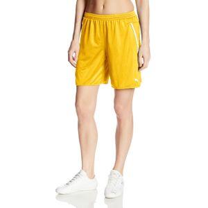 PUMA Speed Pantalones Cortos para Mujer, Amarillo/Blanco(Team Yellow/White), L
