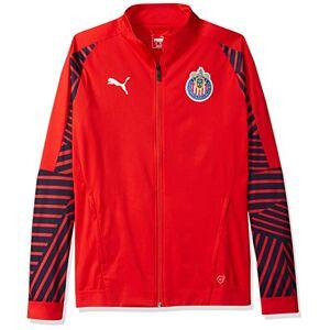 Puma Chivas Stadium Chamarra para Hombre, Rojo (Puma Red), XX-Large