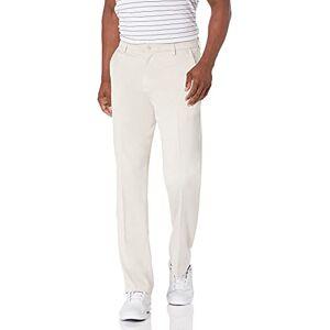 Amazon Essentials Pantalones de golf elásticos para hombre, Piedra, 29W x 30L