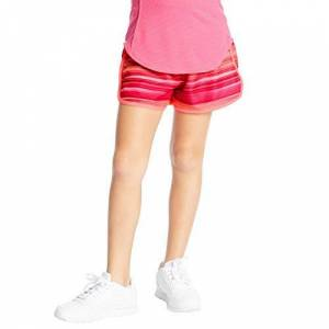 C9 Champion Pantalones Cortos para Correr (5 cm), Rayas Rosadas, Large