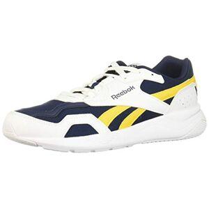 Reebok Royal Dashonic 2 Zapatillas para Hombre, Color White/Collegiate Navy/Toxic Yellow, 11