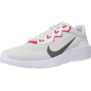 Nike Tenis Explore Strada para hombre, Blanco/Hierro Gris-gris Niebla pista Rojo, 9 US