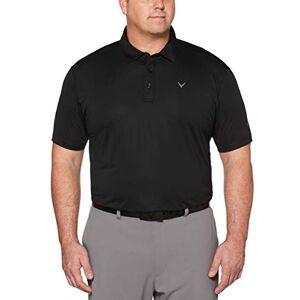 Callaway Polo de Golf de Manga Corta para Hombre, tamaño Grande y Alto, microhexágono, Caviar, XX-Large