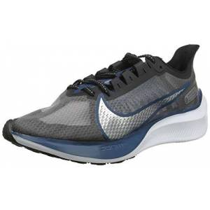 Nike Zoom Gravity- Tenis para Correr para Hombre, Color Off Noir/Metallic Pewter-Atmosphere Grey, 10