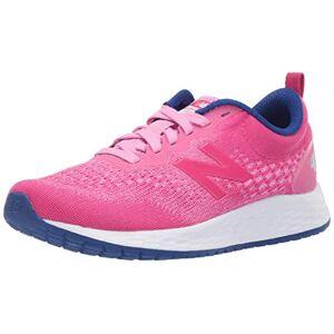 New Balance Girls' Arishi V3 Fresh Foam Running Shoe, Candy Pink/EXHUBERANT Pink/Marine Blue, 7 W US Big Kid