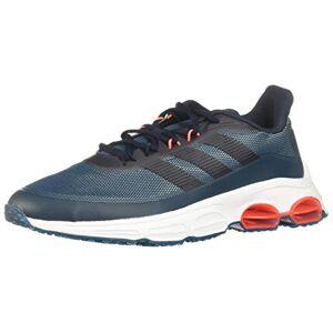 Adidas Quadcube Zapatillas para Hombre, Color Tech Mineral/Legend Ink/Signal Coral, 9.5