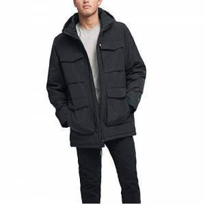 DKNY Performance chamarra de cuatro bolsillos para hombre, Petrol, Small