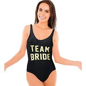 Your Dream Party Shop Trajes de baño de una Pieza para Todas Las Ocasiones de, Multicolor/fantasía (Team Bride), S