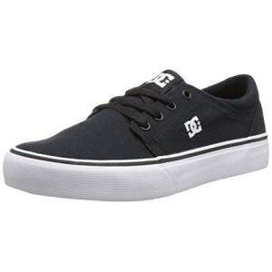 DC Shoes DC Trase TX Youth Shoes Skate Shoe (Little Kid/Big Kid), Black/White, 12.5 M US Little Kid
